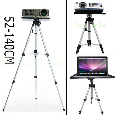 Adjustable Laptop/Notebook/Projector/Camera Tray Holder Tripod Stand Durable UK