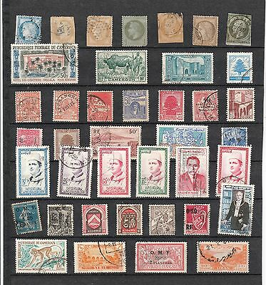 FRANCE & COLONIES Stamp Collection MINT USED REF:QE421