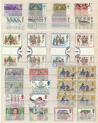 GB CHRISTMAS Thematic Stamp Collection USED  Ref:TS167