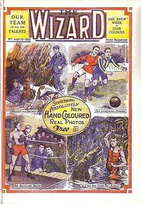 THE WIZARD COLLECTION ON DVD 200+ BOY'S STORY PAPERS FROM THE 1930s