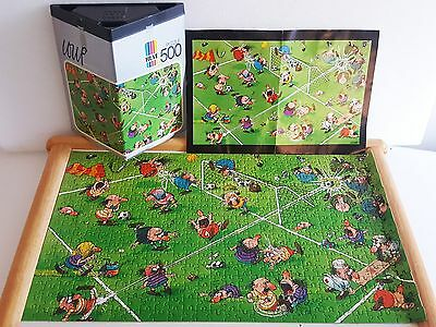 VINTAGE 1974 HEYE LOUP 8318 -WORLD CUP Jigsaw Puzzle 500 pcs Complete w/ insert