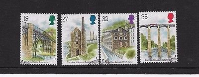 1989 ARCHEOLOGY  4 STAMPS from f.d.c. FINE USED, SCOTT # 1280 - 1283