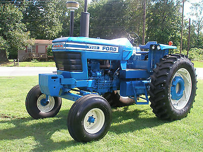 Very Nice  Ford  7700  2Wd     Diesel     Tractor