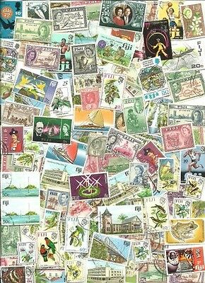 Fiji Collection  from  Stamp Hoard  110 Mint and Used Great Variety