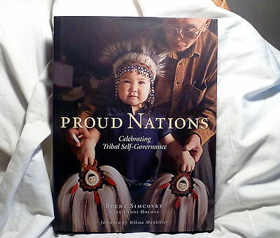 Proud Nations Book Native American Tribal Self Government Great Photography!