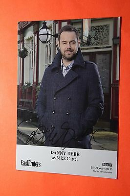 Danny Dyer (Eastenders) Signed Cast Card
