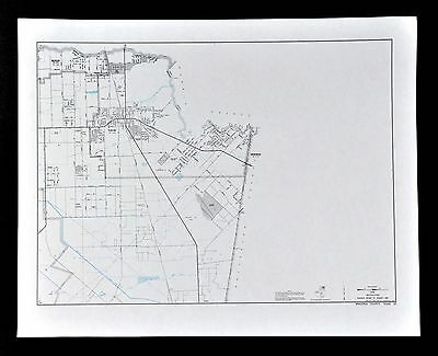 Texas Map - Brazoria County - Pearland - Brookside Village - Friendswood Towns