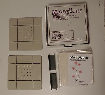 "Microfleur 5"" (13 cm) Microwave Regular Flower Press NIB"