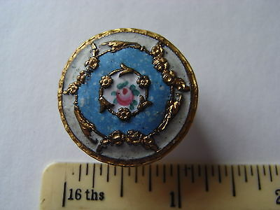 unusual  matt enamel button