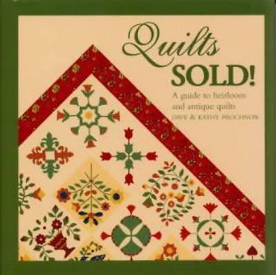 Quilts Sold Heirloom Antique ID book Vintage Handmade
