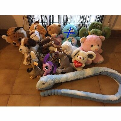 Lot De 15 Peluches