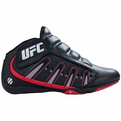 UFC Training Shoes NIB MMA new in box Ringstar Black with Red Mixed Martial Arts