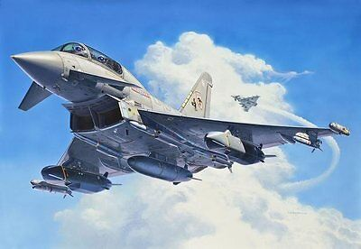 EUROFIGHTER TYPHOON twin-seater 1/48 scale skill 5 Revell plastic model kit#4689