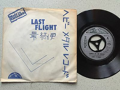Last Flight...dance To The Music.. Uk Issue P/sleeve  Heavey 5