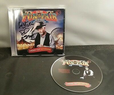 David Essex All The Fun At The Fair Signed Cd Best Wishes Cast Recording