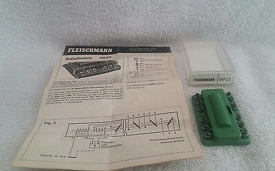 Fleischmann HO 6955 relay switch with instructions
