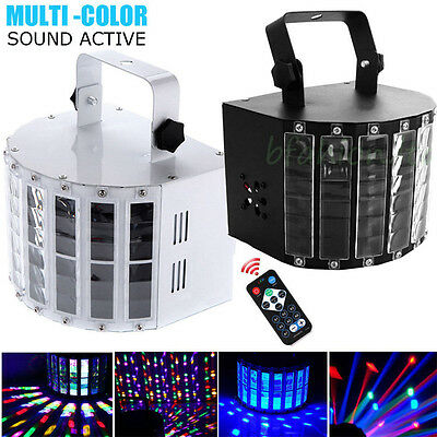 Remote Controller Sounds Active RGBW LED DMX Stage Disco Lighting DJ Party Light