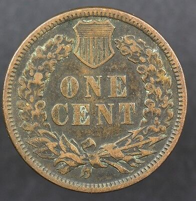 1884 Indian Head USA One Cent Coin