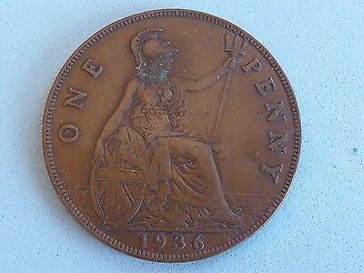 Trick Magic Coin Double Sided Penny 1936 Well Made  (156