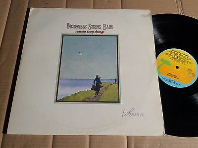 The Incredible String Band - Seasons They Change - 2 Lp - Isld9 - Uk 1976