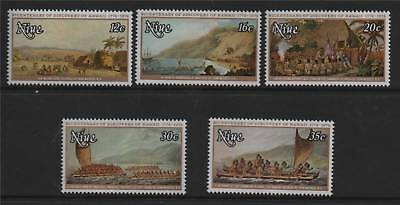 Niue 1978 Hawaii SG235/9 MNH