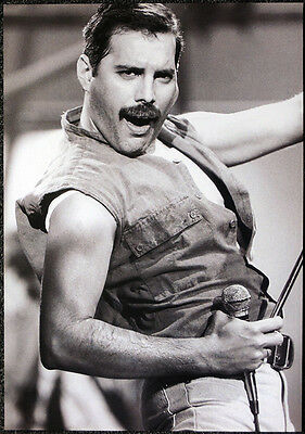 Queen Poster Page 1986 A Kind Of Magic Video Promo Shoot Freddie Mercury R63