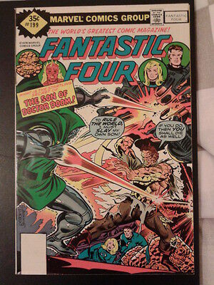 Fantastic Four 199 (1978)  son of Doctor Doom, rare variant cover