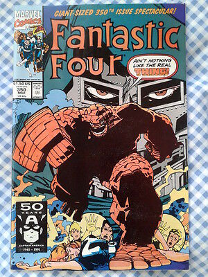 Fantastic Four 350 (1991)  Thing vs. Doctor Doom