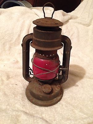Vintage Hurricane, Railway Lamp, Tropic