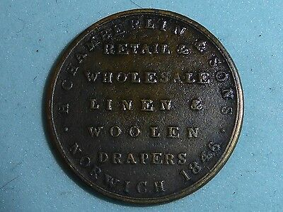 Unofficial Farthing H.chamberlin & Son Norwich Low Grade!  (294