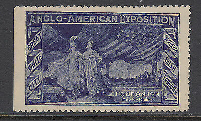 Anglo American Exposition - 1914 - White City - London - Cinderellas