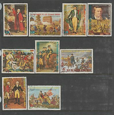 FRENCH AFRICA COLLECTION Equatorial Used #