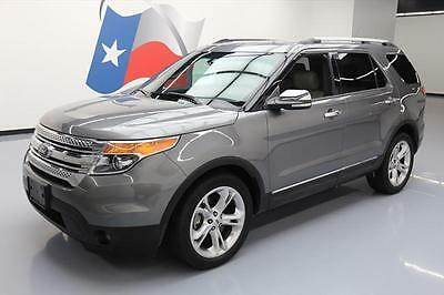 2014 Ford Explorer  2014 FORD EXPLORER LIMITED 7PASS HTD SEATS REAR CAM 48K #C07860 Texas Direct