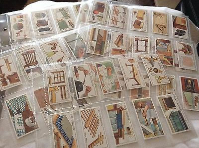 Full Set Reproduction Cigarette Cards - WD & HO Wills - Household Hints