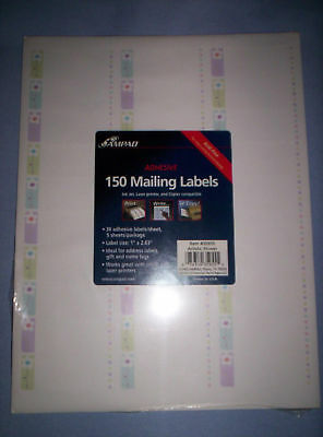 Adhesive  Mailing Labels-Pack Of 150 Labels-New.