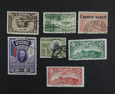 Momen: Europe South America Stamps # Airmail Used $297 R4181S #8839