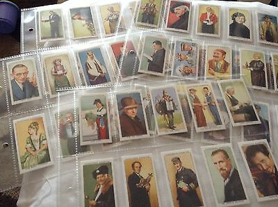 Full Set Reproduction Cigarette Cards - Churchman - In Town To-night