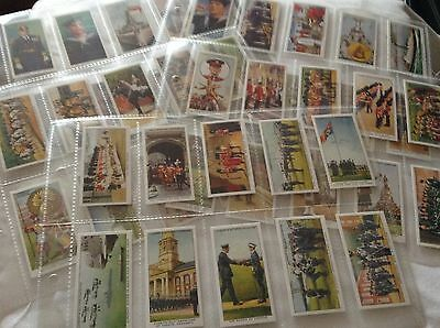 Full Set Repro Cigarette Cards - Customs & Traditions Navy, Army & Air Force