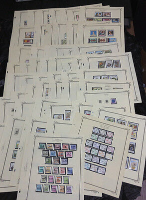 Momen: Jersey Stamps # Collection Mint Og Nh 54 Pages £ R3982S #9249