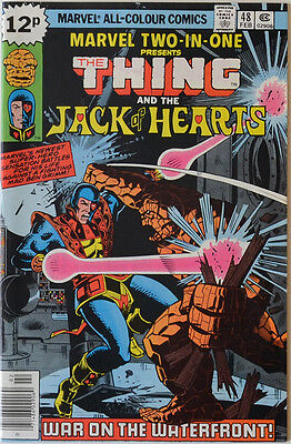 Marvel Two-in-One #48 The Thing Jack of Hearts 2-in-1