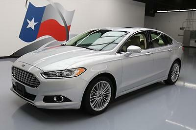 2014 Ford Fusion SE Sedan 4-Door 2014 FORD FUSION SE ECOBOOST SUNROOF NAV REAR CAM 23K #211655 Texas Direct Auto