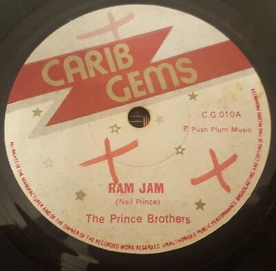 "The Prince Brothers Ram Jam Killer Roots 7"" Listen !"