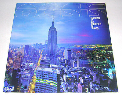 Oasis 'standing On The Shoulder Of Giants' 2000 Stereo Lp Mint
