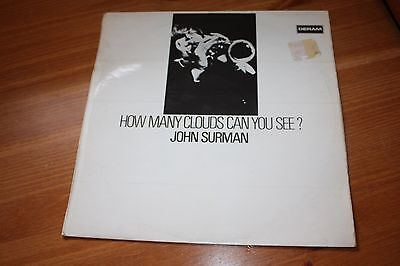 John Surman - How Many Clouds Can You See? - Uk - 1969- Very Good