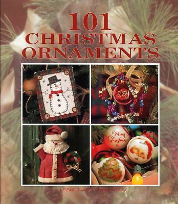 101 Christmas Ornaments Craft Pattern Book Cross Stitch Sewn Stockings More @@