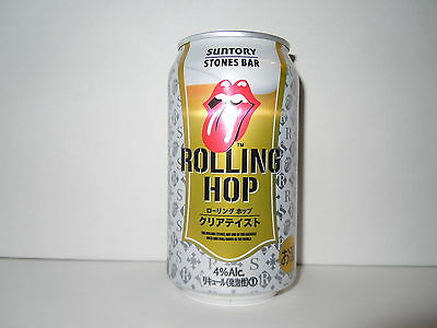 SUNTORY ROLLING STONES 350 ml. ALUMINUM BEER CAN from JAPAN EMPTY !!!