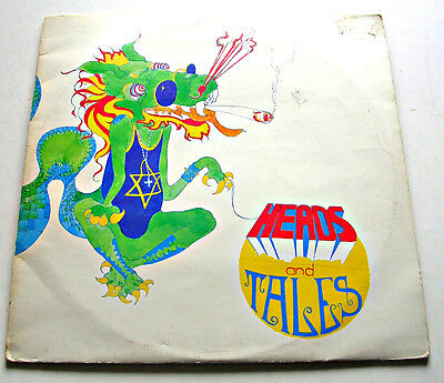 Heads And Tales (1970 Transatlantic Records Sampler) Double Stereo Lp Ex/g