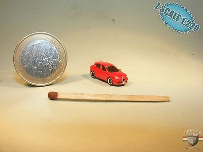 Alfa Romeo Giulietta Z scale 1/220 hand-painted metal model
