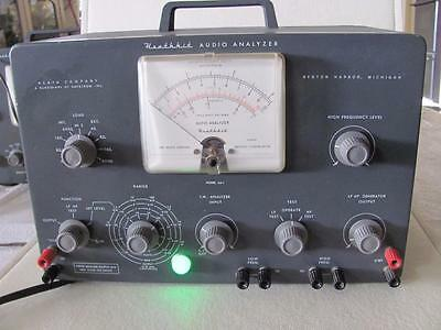 Vintage Heathkit vacuum tube Audio Analyzer Radio Ham repair
