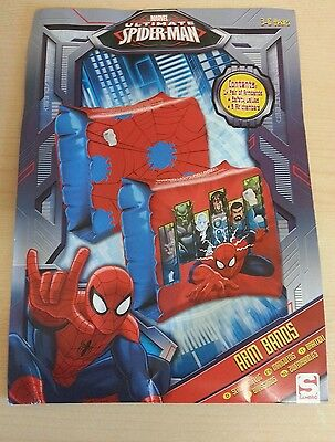Disney / Marvel Spiderman Childrens Kids Inflatable Safety Swimming Arm Bands